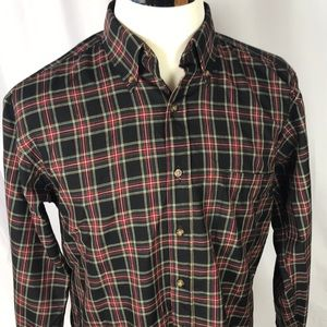 Pendleton wool plaid button up shirt size medium